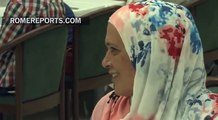 El Papa invita a comer en Santa Marta a 21 refugiados sirios