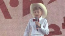 À Coachella, ce garçon de 11 ans a fait sensation en chantant un yodel