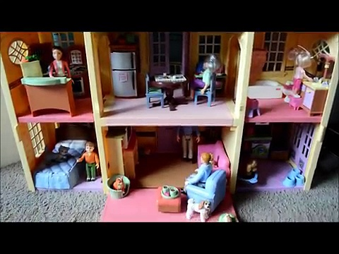 Fisher Price Loving Family Large Doll House Tour
