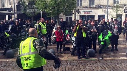Les motards en colère regrettent de ne pas avoir été reçus par Xavier Bonnefont