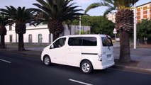 experience and test drive new car - 2018 Nissan e-NV200 - interior and exterior