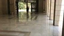 SuriyeDevlet Başkanı BeşarEsad'ın ofisine gitme görüntüleri yayımlandı