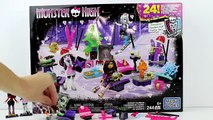Mega Bloks Monster High Advent Calendar 2016 Unboxing Toy Review