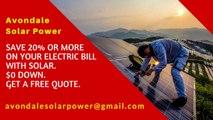 Buy Affordable Solar Energy Panels Quote Avondale AZ