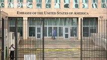 EE.UU. reduce el personal de su embajada en Cuba