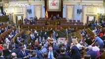 El referéndum independentista en Cataluña divide a Podemos horas antes de presentar la moción de…