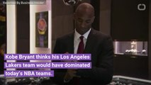 Kobe Bryant Said His Los Angeles Lakers Team Would Beat The Golden State Warriors