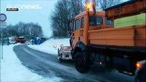Más de 80 muertos por la ola de frío y los temporales en Europa