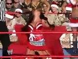 WWE RAW 2018 Ashley and Trish Stratus vs Candice Michelle and Maria