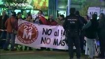 """Miles de personas marchan en Madrid para pedir """"dignidad"""""""