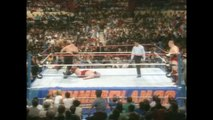 The Barbarian and The Warlord (with The Baron) vs The Bolsheviks Summerslam 1988