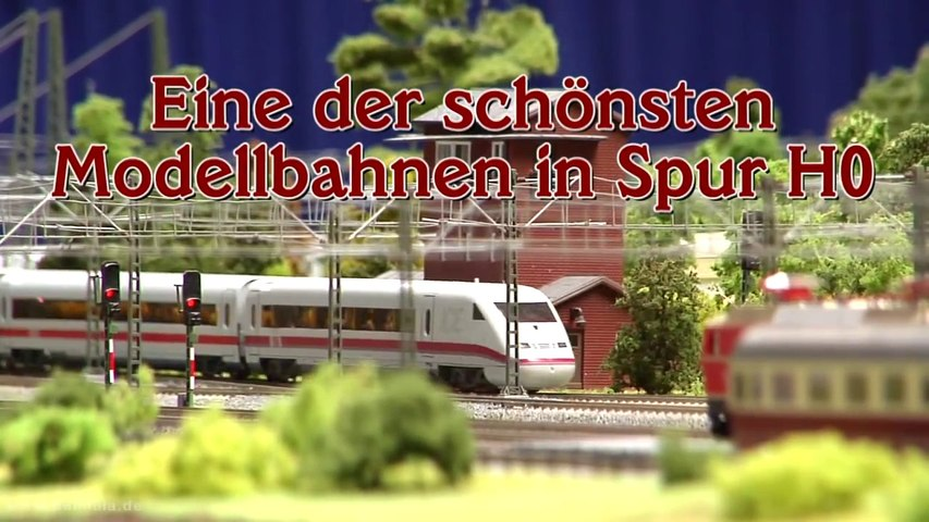 Eine der größten Spur H0 Modelleisenbahnen der Welt - Ein Video von Pennula für alle Freunde der Modelleisenbahn bzw. Modellbahn