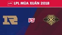 Highlights: RNG vs SS | Royal Never Give Up vs Snake Esports | LPL Mùa Xuân 2018