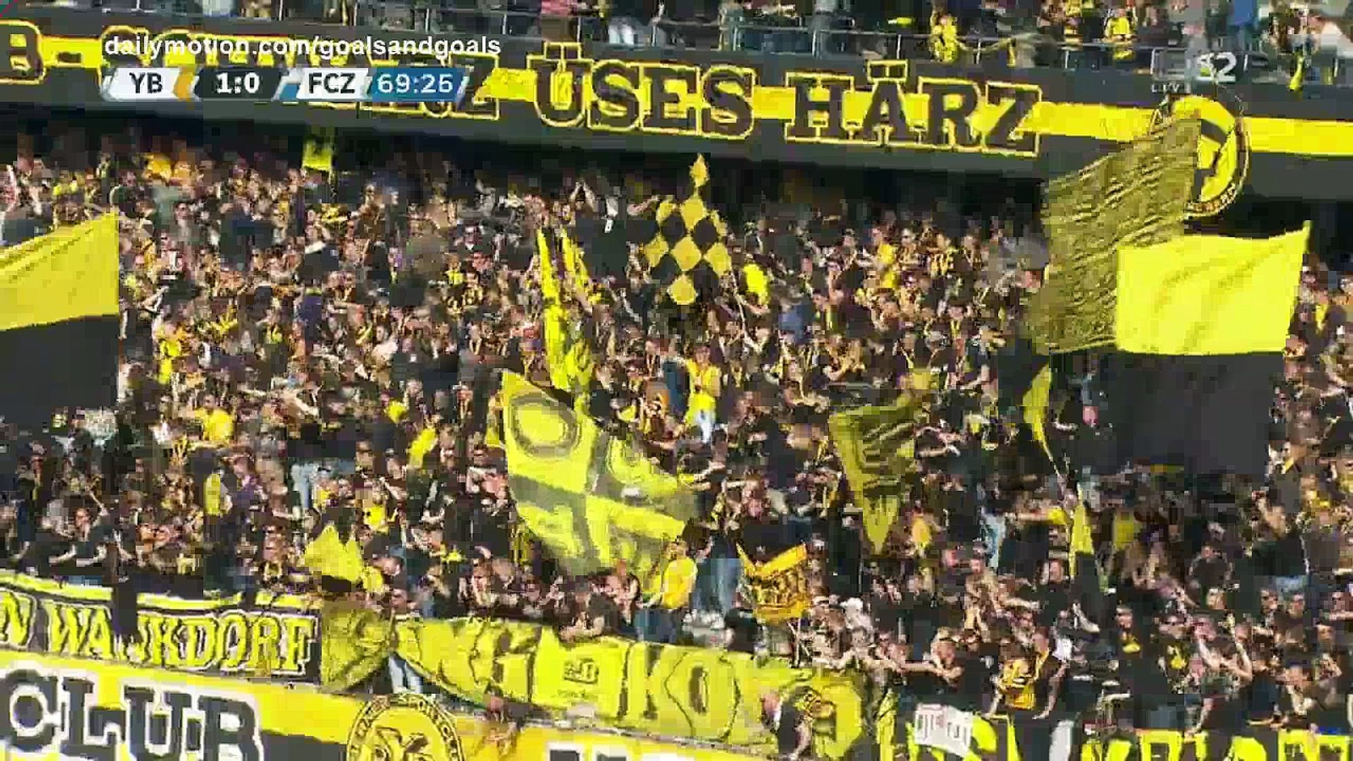 Sekou Sanogo Junior Goal HD - Young Boys 1 - 0 FC Zurich - 15.04.2018 (Full Replay)