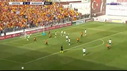 Göztepe : Nabil Ghilas ouvre le score face à Bursaspor