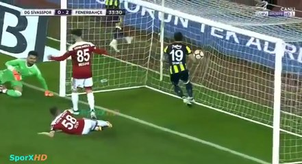 Sivasspor : Medjani marque contre son camp face à Fenerbahce