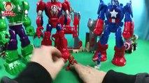 Playskool Heroes Marvel Super Hero Adventures Mech Armor Captain America Iron Man Hulk Spider Man
