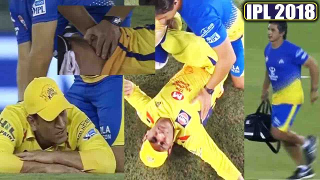 IPL 2018 CSK vs KXIP : MS Dhoni gets injured during match, all is lost for Chennai | वनइंडिया हिंदी