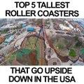 Les 5 montagnes russes les plus vertigineuses du monde... Roller coaster de fou