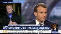 """Macron sur BFMTV: """"Emmanuel Macron a signé le début de son naufrage"""", estime le député FI Adrien Quatennens"""