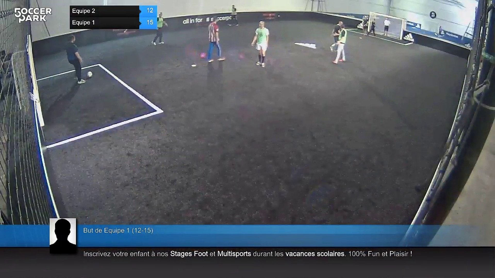 But de Equipe 1 (12-14) - Equipe 2 Vs Equipe 1 - 14/04/18 20:14 - Loisir Orléans