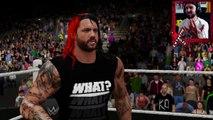 WWE 2K16 Mi Carrera - LE HE ROTO EL CUELLO EN EXTREME RULES
