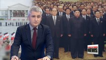 Kim Jong-un reportedly visits Kumsusan Palace of the Sun to celebrate Kim Il-sung's birthday