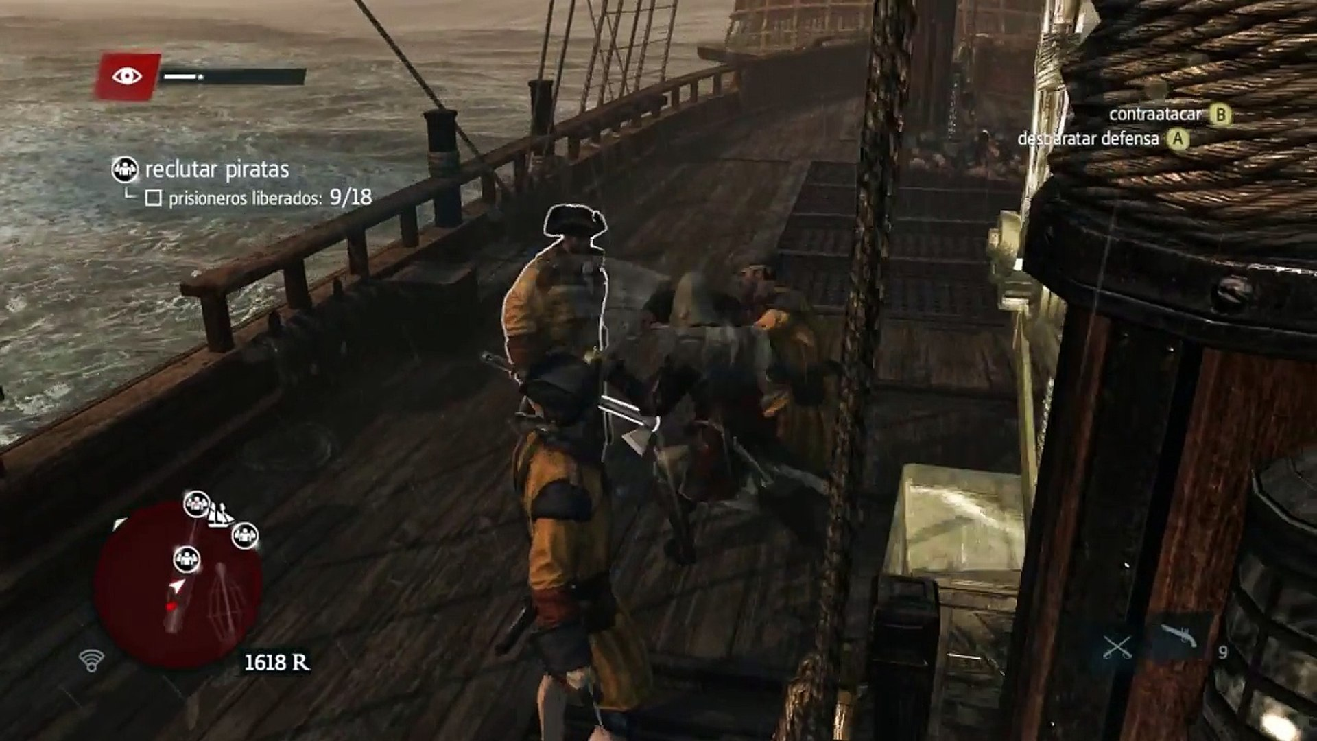 Assassins Creed IV Black Flag en Español - Pc Gameplay Parte 5