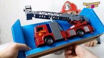 Машинки Пожарные Dickie Toys со звуком, светом и водой Распаковка игрушки Toys for kids