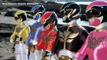 Power Rangers summon the Neo-Saban Zords | Samurai, Megaforce, Dino Charge, and Ninja Steel