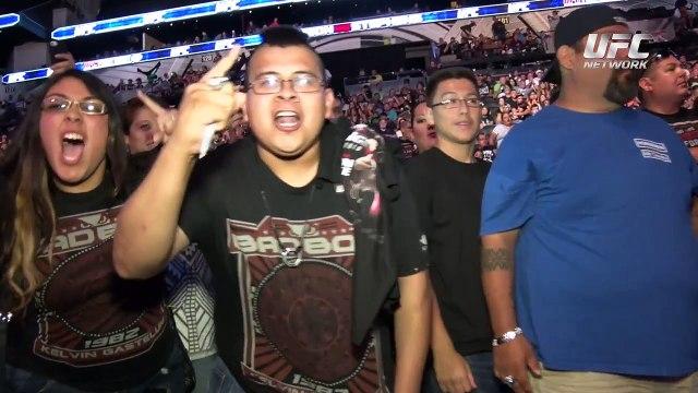 UFC Fight Night San Antonio: Kelvin Gastelum Entrevista Posterior