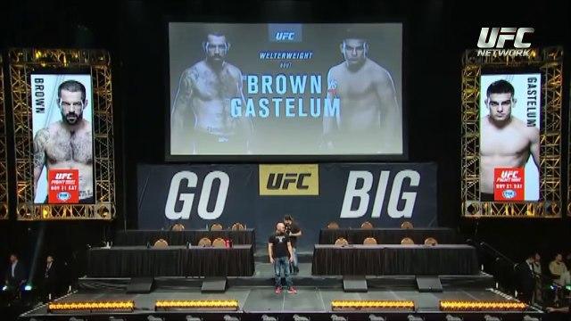 UFC Monterrey: Careo Matt Brown vs Kelvin Gastelum