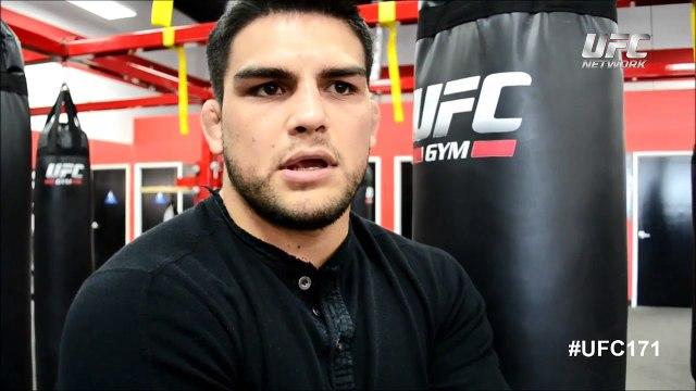 UFC 171: Kelvin Gastelum Entrevista Previa