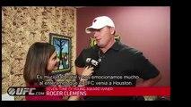 UFC 166: Roger Clemens en los Entrenamientos