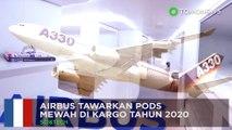 Tempat tidur di Airbus: A330 karga akan luncurkan pods mewah - TomoNews