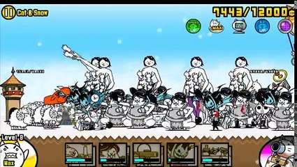 Battle cats - Jingle cat bell - all levels - all special cats