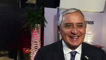 Otto Pérez Molina: Fútbol con Peña Nieto, turismo con Maduro y cena con Obama