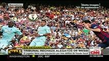 Messi irá a juicio por fraude fiscal en España