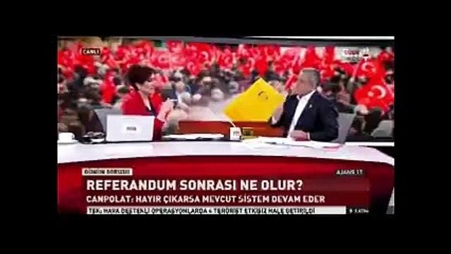 CHP'li başkan, Habertürk canlı yayınında: Siz yandaş medyadan da yandaşsınız!