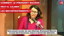 SNCF, hôpital, grand âge: comment Macron veut calmer les mécontentements