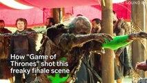 Game of Thrones'un final sahnesindeki büyük buluşma nasıl çekildi?