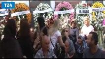 Vatan Şaşmaz'ın cenaze töreni başladı