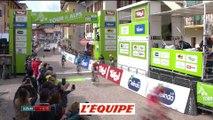 le dernier kilomètre en vidéo - Cyclisme - Tour des Alpes - 1ere étape