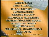 Dossier Verhulst - Closing & Ending Credits With Bumper BY AVRO-TROS INC. LTD.