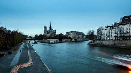 Timelapse Notre Dame de Paris