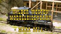 Wilder Westen Modelleisenbahn Schmalspur Modulanlage in Spur 0 - Ein Video von Pennula für alle Freunde von Modellbahnen und Modelleisenbahnen