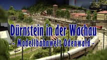 Modelleisenbahn Dürnstein in der Wachau von Josef Brandl bei der Modellbahnwelt Odenwald - Ein Video von Pennula für alle Freunde von Modellbahnen und Modelleisenbahnen