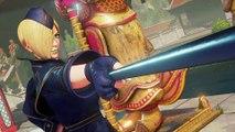 Street Fighter V - Falke trailer