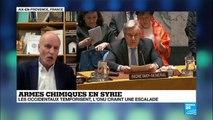 ''Ce qui va se passer ou pas se passer ne va rien changer au drame des Syriens''