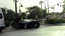 Lady Gaga And Fiance Christian Carino Make A Coffee Run In A Black Lambo